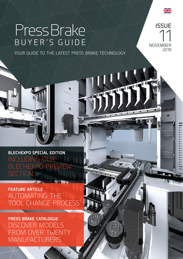 Press Brake Buyer's Guide Cover: Issue 11: Blechexpo 2019 Special Edition
