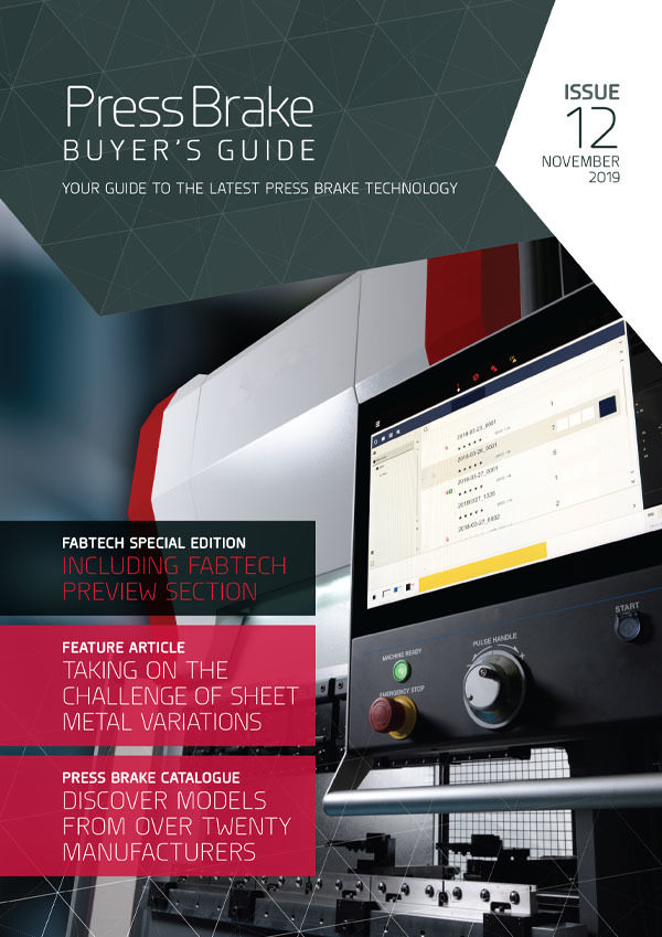 Press Brake Buyer's Guide Cover: Issue 12: FABTECH 2019 Special Edition