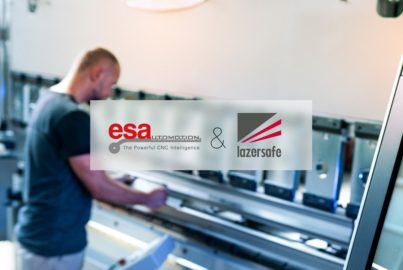 Esautomotion announces the distribution of PCSS-ESA, advanced safety PLC for press brakes